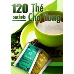 Thé CHO YUNG Minceur : le Super Pack ECO de 120 sachets de thé