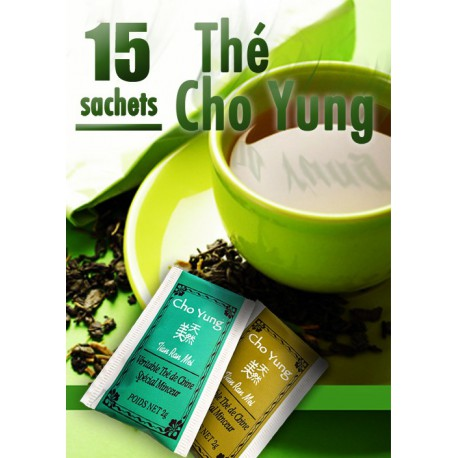 Thé Cho Yung Minceur : le Pack de 15 sachets