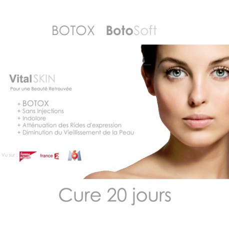 Botox Botosoft Cure de 20 jours