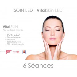 Forfait 6 séances LED + JET PEEL avec application Acide Hyaluronique