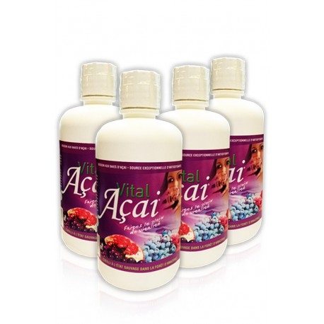 Pack CURE ECO Vital Açai Fruité (4 bouteilles)