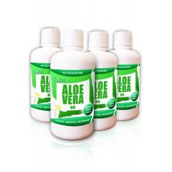 Pack CURE ECO Pur Jus d'Aloe Vera Certifié BIO (4 bouteilles)