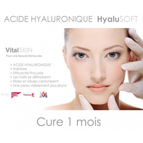Acide Hyaluronique Hyalusoft - Cure 1 mois